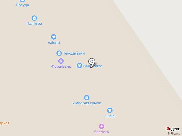 Милатекс на карте Ярославля