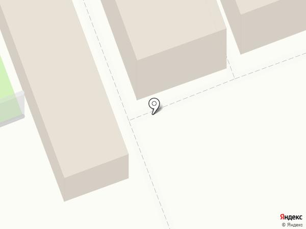 Киоск фастфудной продукции на карте Северодвинска