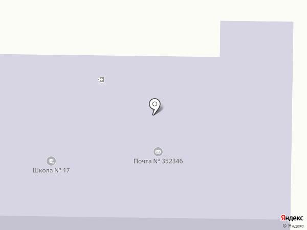 Средняя общеобразовательная школа №17 на карте Южного