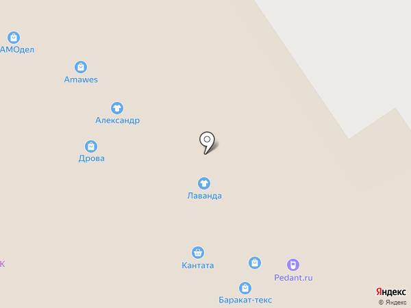 Баракат-Текс на карте Ярославля