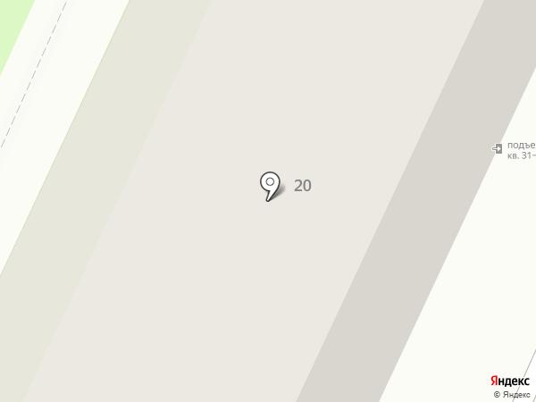 Вологодская городская поликлиника №1 на карте Вологды
