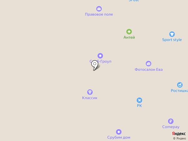 MTV на карте Вологды