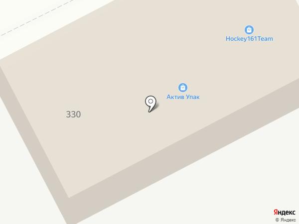 Югнедра на карте Ростова-на-Дону