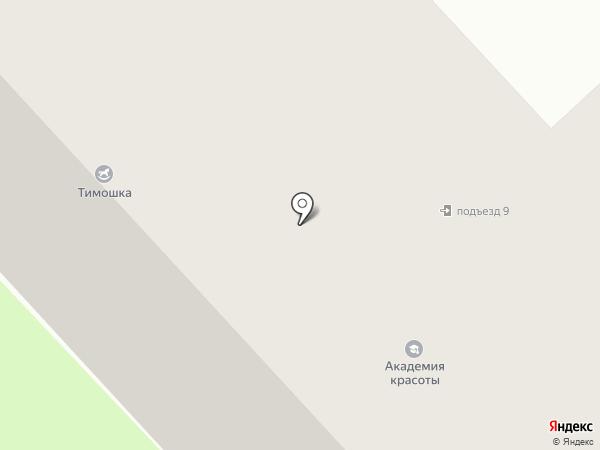 Антарес на карте Вологды
