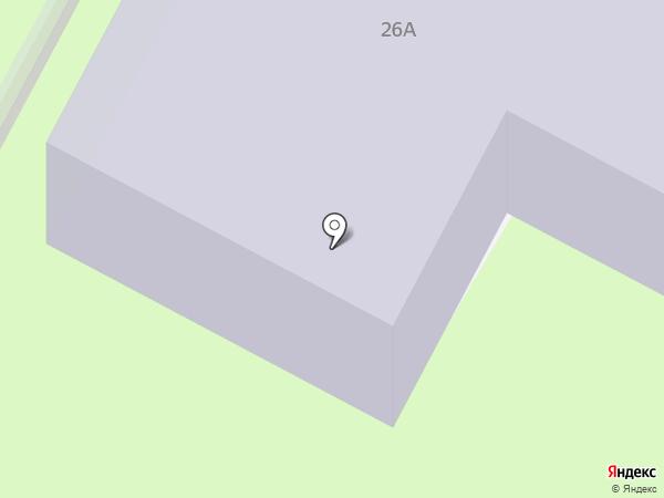 Средняя общеобразовательная школа №25 на карте Вологды