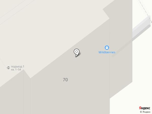 Душенька на карте Ярославля