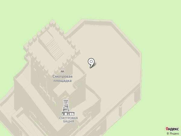 Красная поляна на карте Сочи