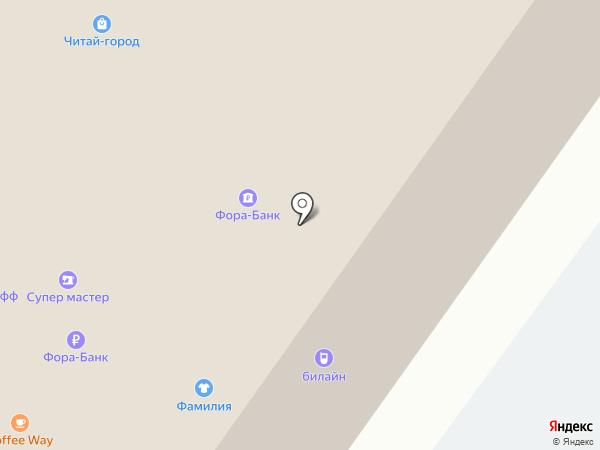 Котофей на карте Ярославля