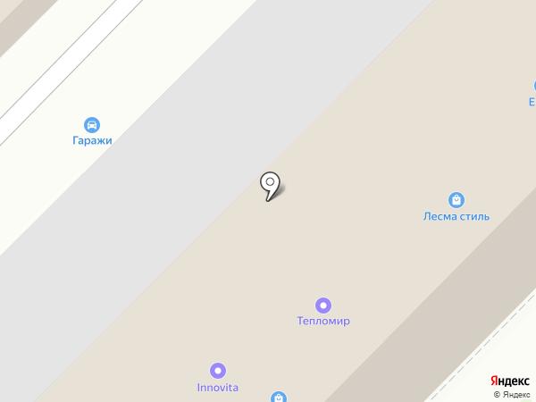 Магазин газовых плит на карте Ярославля