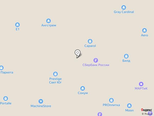 TOGAS на карте Аксая