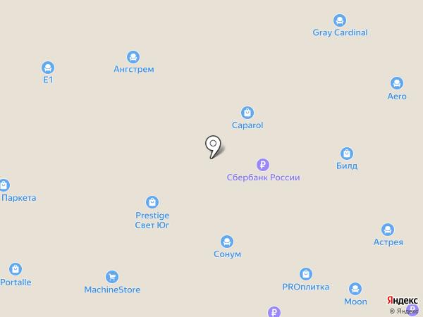 Mobel & Zeit на карте Аксая