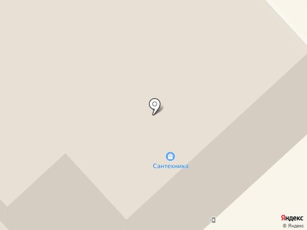 Сеть специализированных магазинов сантехники на карте Вологды