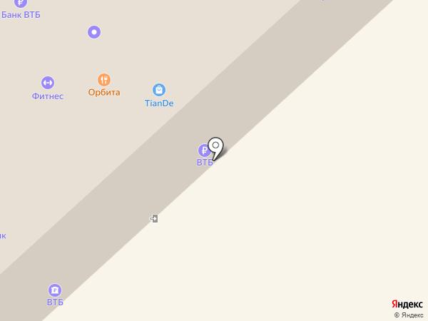 Столовая на карте Вологды