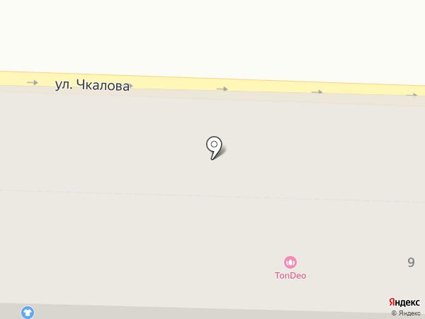 Улитка на карте Ярославля
