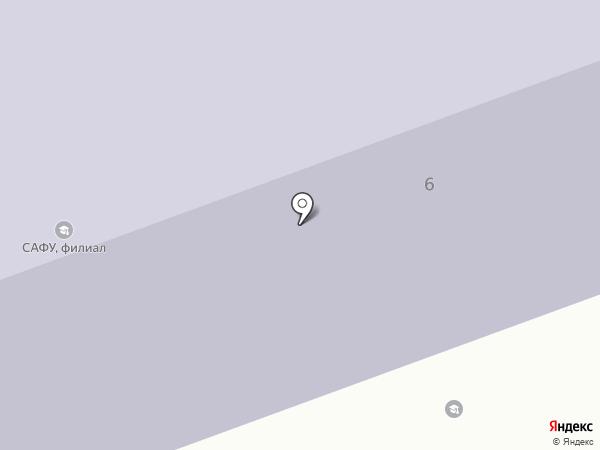 Северный (Арктический) федеральный университет им. М.В. Ломоносова на карте Северодвинска