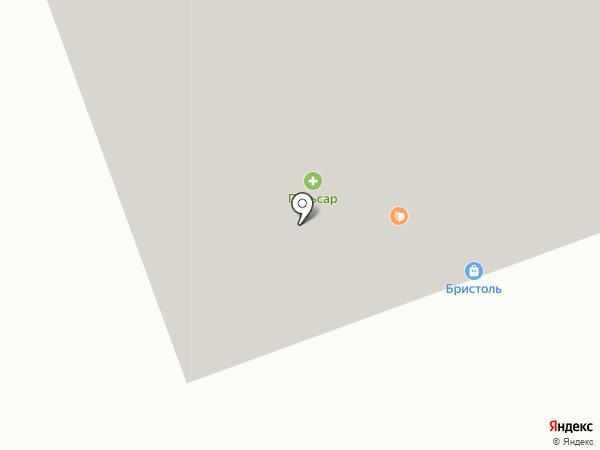 Гастроном на карте Северодвинска