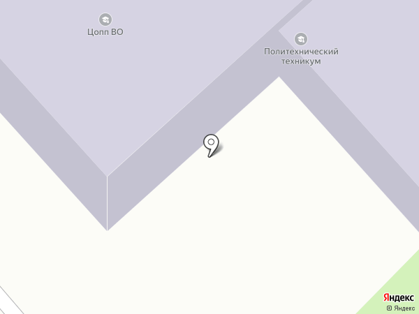 Вологодский политехнический техникум на карте Вологды