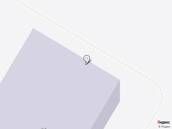 Лучинская средняя общеобразовательная школа на карте Лучинского