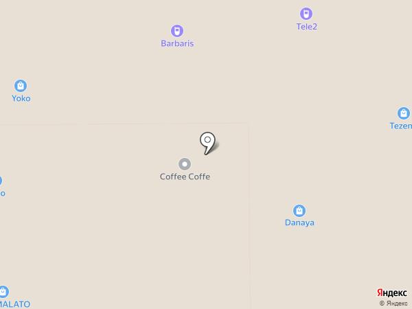 YOTA на карте Аксая