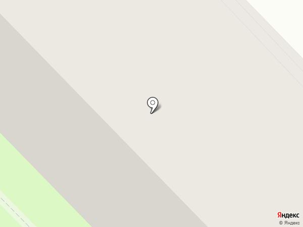 Бригантина на карте Вологды