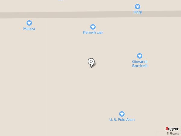 Accent на карте Аксая