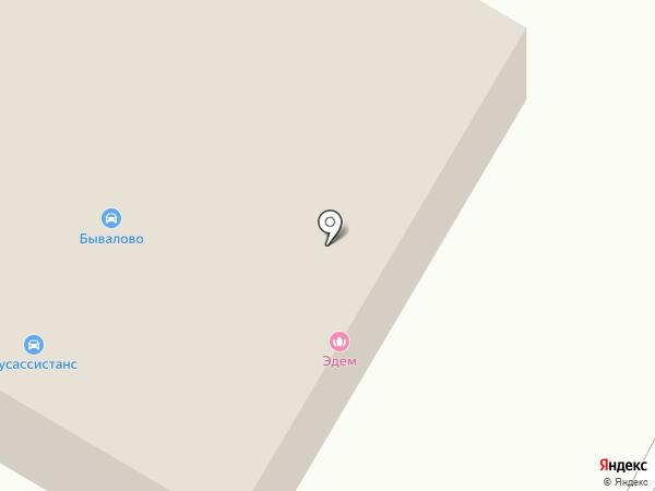 Бывалово на карте Вологды