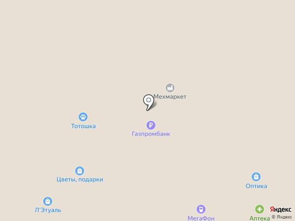 Булавкина на карте Вологды