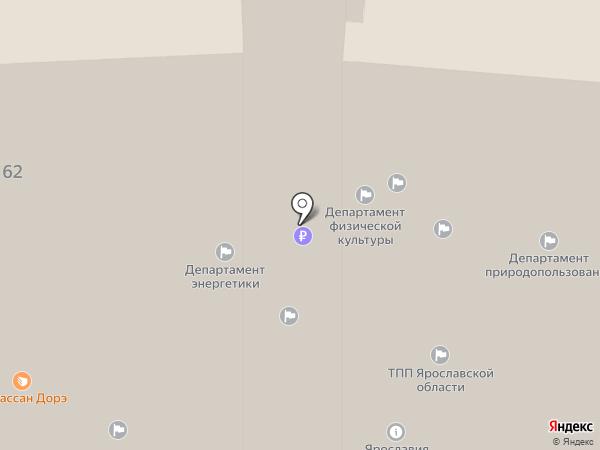 ЦЕНТР ДЕЛОВОГО ОБРАЗОВАНИЯ ЯРОСЛАВСКОЙ ОБЛАСТИ ТОРГОВО-ПРОМЫШЛЕННОЙ ПАЛАТЫ, НОУ ДПО на карте Ярославля