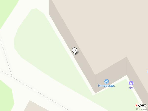 Юнистрой на карте Ярославля