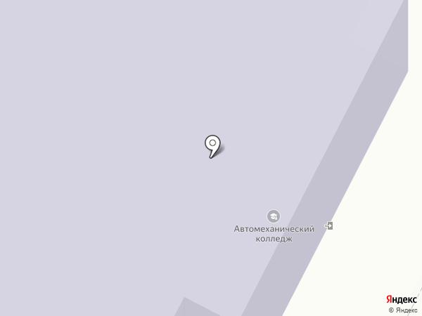 Техноколор на карте Ярославля