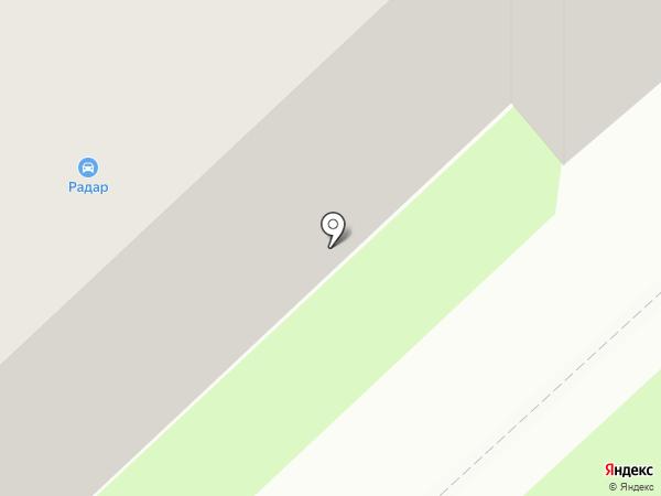Радар на карте Вологды