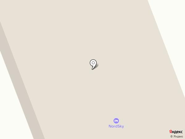NordSky на карте Северодвинска