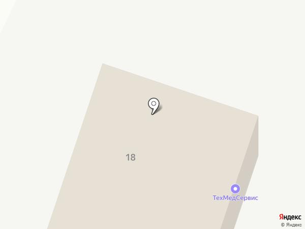 Вологодская сельхозхимия на карте Вологды