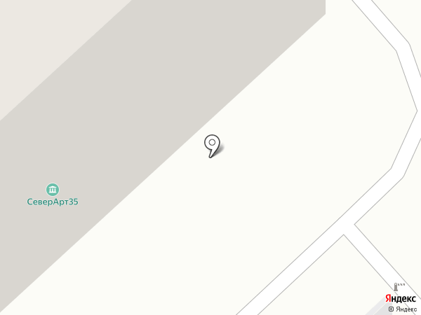 Дента-Нель на карте Вологды