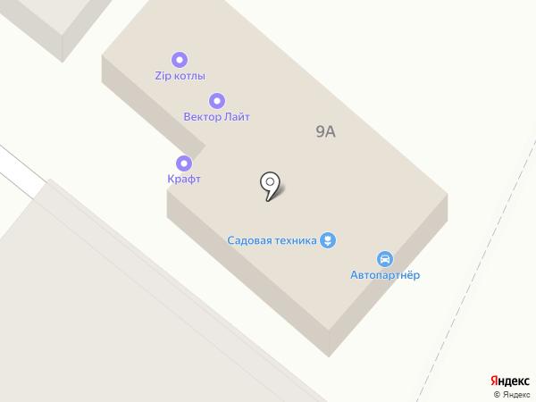 Транс-Лидер на карте Аксая
