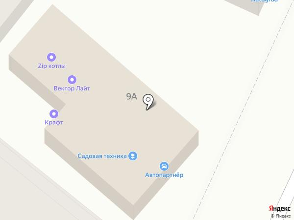 Крафт на карте Аксая