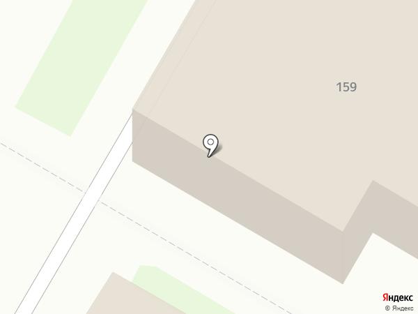 Фиеста на карте Ярославля
