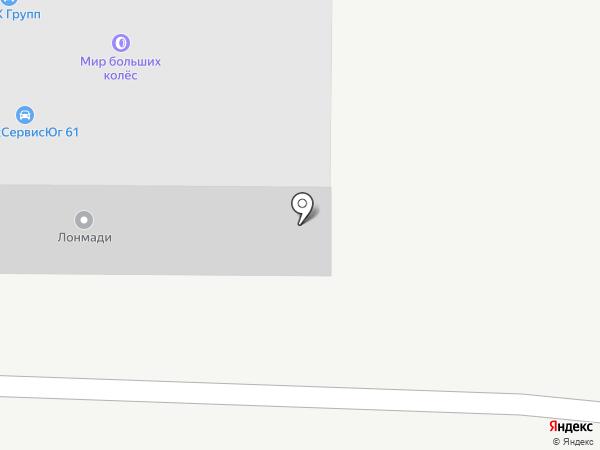 АККУМАРКЕТ NRG на карте Аксая