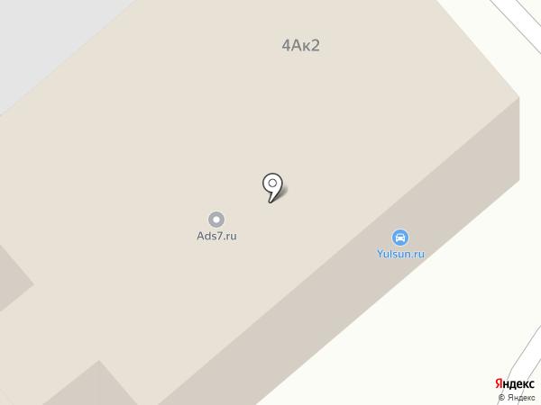 Самурай на карте Вологды