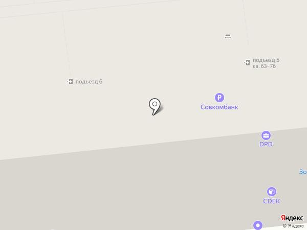 Лира на карте Ярославля
