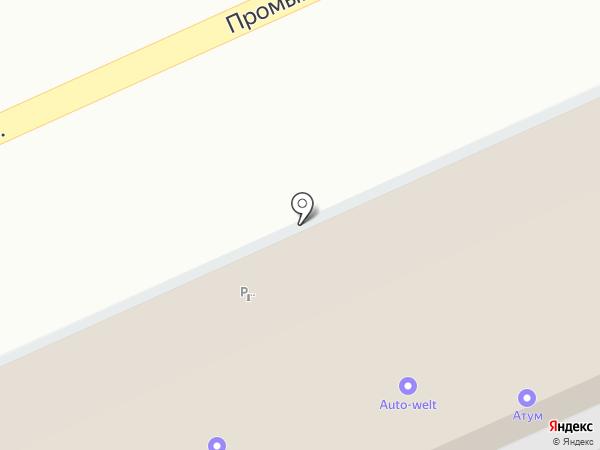 Автотехника-Юг на карте Аксая