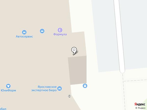 TeamProfi на карте Ярославля