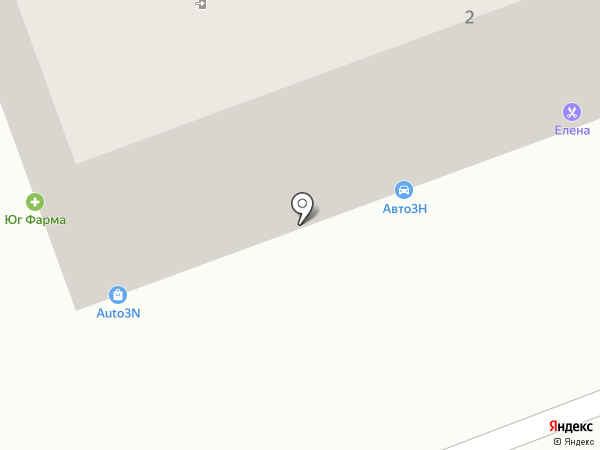 Бартина на карте Аксая