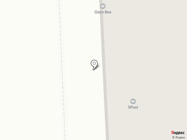 Волховец на карте Ярославля