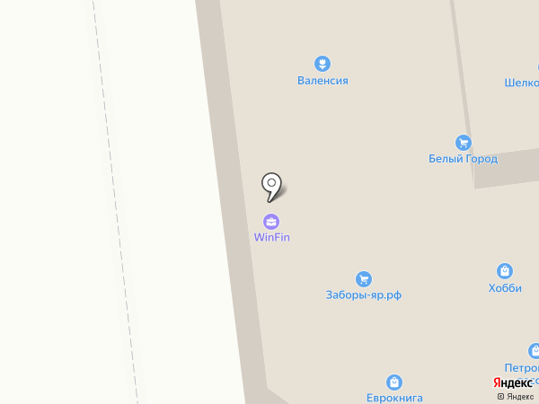 Dizainer House на карте Ярославля