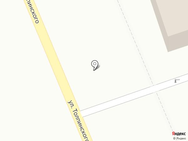 Молодежный на карте Аксая