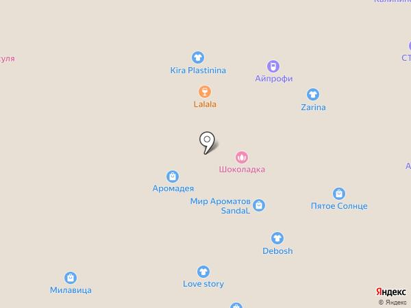 Архитектория на карте Вологды