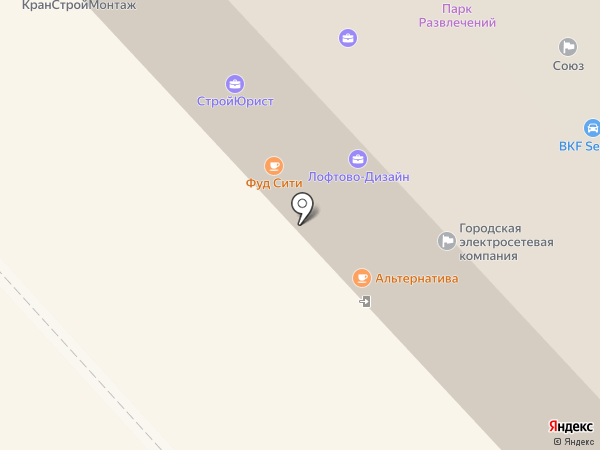 Возовоз на карте Вологды