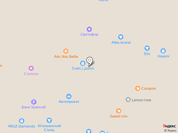 Бизнес-сервис на карте Вологды
