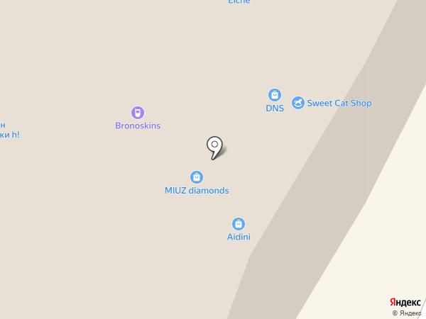 Ваниль на карте Вологды